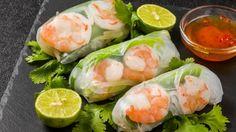 Zesty Shrimp Spring Rolls   The Perfect Springtime Snack   Fresh and Healthy Homemade Recipe