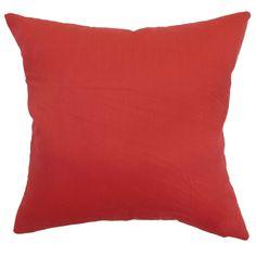 Calvi Cotton Throw Pillow