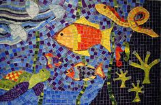 The Mosaic workshop's first finished piece! | ArtWorks Co-Op Blog