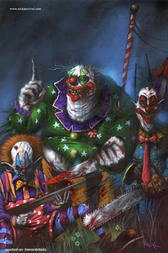 Killer Klowns  From Outer Space................