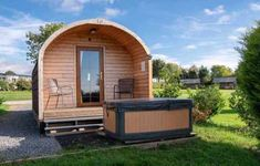 13 Amazing Treehouse Holidays With a Hot Tub in the UK [2021] Glamping Holidays, Farm Holidays, Pub Accommodation, Woolacombe Beach, Beautiful Places To Visit, Amazing Places, Bell Tent, Holiday Park, Log Burner