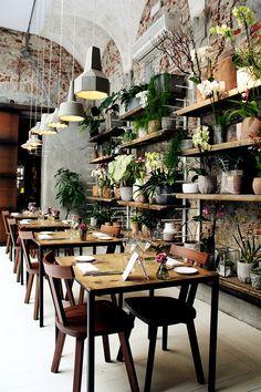 restaurant concept mentions Jaime, 23 commentaires - M.A Magazine (merci. Restaurant Design, Deco Restaurant, Restaurant Concept, Modern Restaurant, Design Shop, Cafe Design, Design Design, Coffee Shop Interior Design, Coffee Shop Design