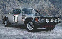 1980 Mercedes-Benz 500SLC (C107) Winner Bandama Rallye