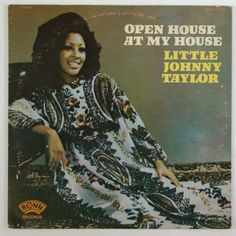 Little-Johnny-Taylor-034-Open-House-At-My-House-034-Blues-Soul-Funk-LP-Ronn