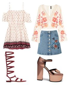 """Untitled #206"" by alex-shep ❤ liked on Polyvore featuring Miss Selfridge, H&M, MANGO and Mulberry"