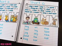 Phonics fluency notebooks are one of my favorite literacy activities for teaching students to read with fluency and comprehension. I love them because they are hands on and interactive and require t