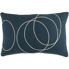 Decorative Liana Down/Polyester Filled Throw Pillow