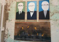 Florentin – Israel's unofficial street art capital  In the neighborhood of Florentin, galleries exhibit and sell the works of popular street artists, stretching the boundaries of public art.