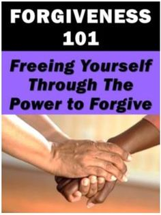 Learn how to deal with Mistakes and how to forgive.