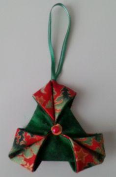 Folded Star - Christmas Tree Decoration £5.00
