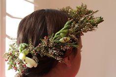 DIY Floral Head Wreath