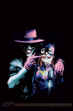 Batgirl #41 - The Joker variant cover by Rafael Albuquerque *