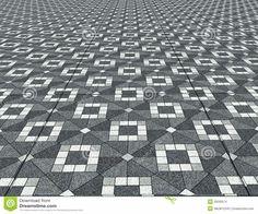 Amazing Floor Design Texture On Floor With Design Background Geometric Floor Texture Tiles Plan Floor Texture, Tiles Texture, Texture Design, Garden Paving, Mosaic Garden, Concrete Pathway, Floor Patterns, Geometric Patterns, Paver Blocks