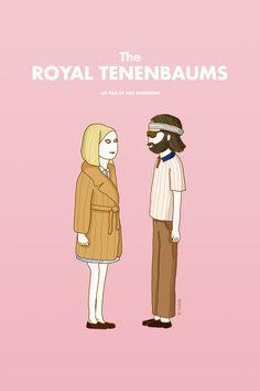 The Royal Tenenbaums by Ookah