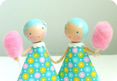 Candy Floss Cuteness via etsy's becheery