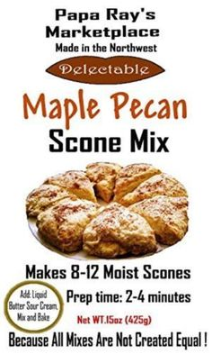Papa Ray's Marketplace (Maple Pecan Scone Mix)