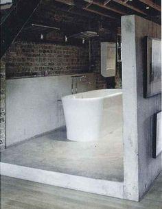 bathroom stuc beton cirre