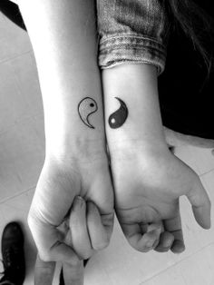 Ying Yang Tattoos Doing This With My Soul Mate