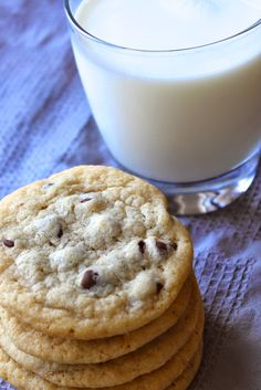 We're really going back to basics with this post, but everyone needs a really good cookie recipe in their baking repertoire and this is mine. And sometimes you just need a really good chocolate chip cookie. Or 2. And a nice, tall glass of milk. There's just something about that crispy exterior and that soft,...