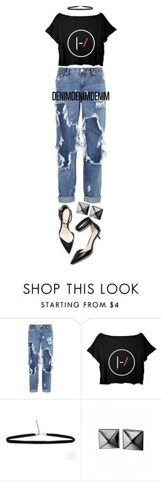 """1073."" by adc421 on Polyvore featuring One Teaspoon, 3.1 Phillip Lim, Waterford, women's clothing, women, female, woman, misses, juniors and distresseddenim"