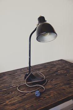 Old desk lamp by SteelRabbit