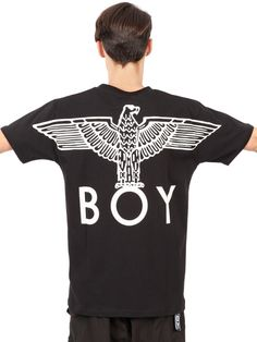Boy Eagle Printed Cotton T-Shirt