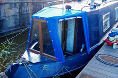 Cratch cover with turnbutton fasteners. Canal Boat Interior, Narrow Boat, Boat Covers, Boat House, Fasteners, Google Images, Bar Stools, Gypsy, Porch
