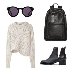 the current// style, sunnies, sweater, jeffery campbell booties, marc by marc jacobs backpack... inspired by lovelaurenelizabeth