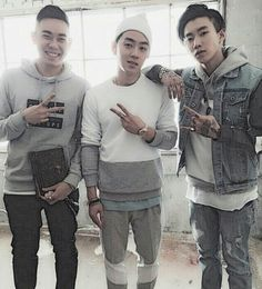 AOMG Loco, Gray, and Jay Park