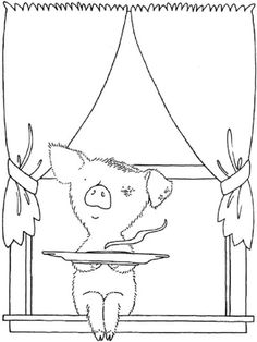If You Give A Pig A Pancake Coloring Page if you give a pig a