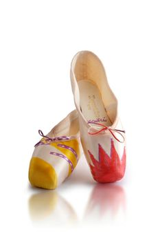For the 60th anniversary of the Maison Repetto - Repetto seen by Philipe Découflé ballet shoes