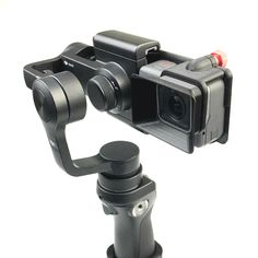 GoPro hero 5 Adapter switch mount plate + Camera Sun Shade for DJI osmo mobile gimbal handheld parts