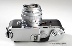 LEICA M6 Chrome body w/Summilux-M 1:1.4/50mm lens as supplied along with LEICA Traveller Kit Edition, 1994