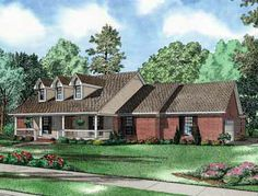 Captivating Country Home with Optional Home Theater (HWBDO57783) | Country House Plan from BuilderHousePlans.com