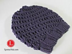 Very Simple Spiral Hat FREEPattern with Step by Step Video Tutorial for the Circular Loom. Easy enough for beginners.