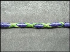 ► Wrap Friendship Bracelet - The X-Wrap Tutorial (Hair Wrapping) - YouTube
