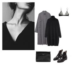 """#26"" by vlney ❤ liked on Polyvore featuring Yves Saint Laurent, Acne Studios and Zara"