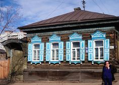 Old wooden house, Chita Siberia by cjcam, via Flickr