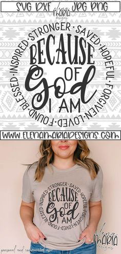 Svg Files For Cricut, Cricut Fonts, Silhouette Cameo Projects, Christian Shirts, Cricut Creations, Personalized T Shirts, As You Like, Cricut Design, Shirt Ideas