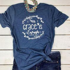 Christian Clothing, Christian Shirts, Jesus Shirts, Vinyl Shirts, Shirts With Sayings, Cute Shirts, Unisex, Shirt Style, Shirt Designs