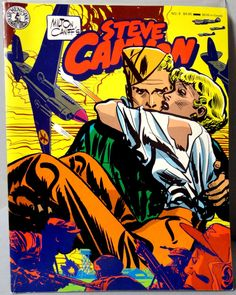 Milton CANIFF STEVE CANYON #8 Post World War 2 Korea & Cold War Jet Aviation Action Adventure Newspaper Comic Strip Reprints Kitchen Sink