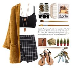 """""""date night"""" by dzeni-dzen ❤ liked on Polyvore featuring Jules Smith, Nikon and HAY"""