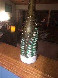 Christmas Trees on bottle
