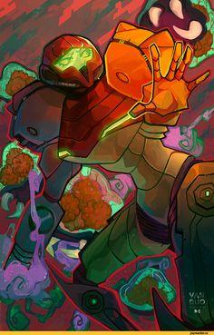Samus Aran,Metroid,Игры
