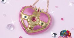 Sekiguchi continues its Sailor Moon mascot series with a Cosmic Heart compact mascot you can use as a small purse or a pouch accessory!