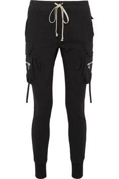 Rick Owens Track Pants / Net A Porter