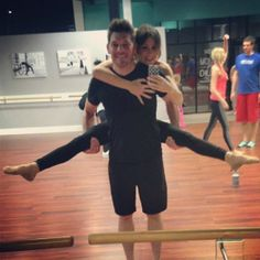 Tonight was BYOM night at Xtend Barre Provo. This feller of mine learned some fancy ballet moves. Men at the Barre at Xtend Barre Provo barre class, a boutique fitness studio.
