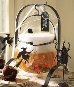 Spooky witches' brew. Perfect for a #Halloween celebration. #potterybarn