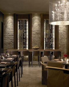 Restaurant -4- Wine Wall
