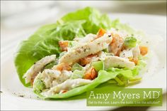 Amazing chicken salad lunch wrap recipe that packs in all the nutrients of a salad with the convenience of a hand-held sandwich.